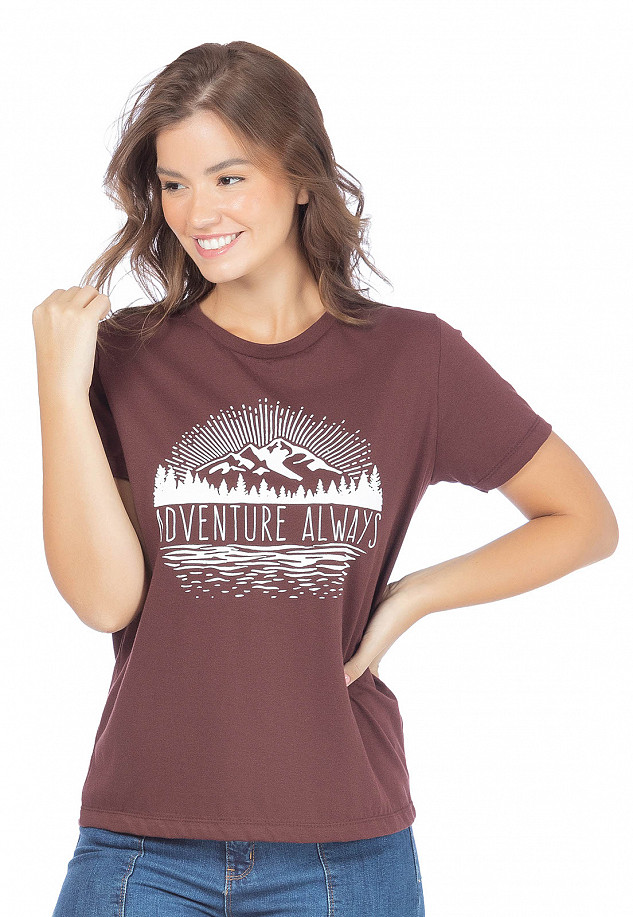 T-shirt Feminina Adventure